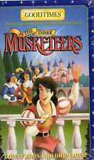 THE THREE MUSKETEERS-Goodtimes VHS - NTSC-N&S-Never played!-Original USA release