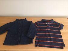 Gap 18-24 meses Chicos Chaqueta & T-Shirt-azul marino