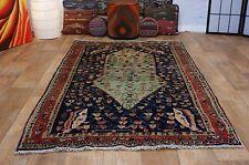 nr 310 Handgeknüpfter ORIGINAL TEPPICH VINTAGE SARUGH aus Wolle ca 210 x 130