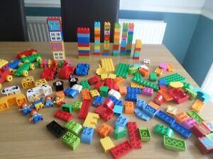 DUPLO  LEGO MIXED  LOT 190 PIECES BRICKS PARTS PIECES  FREE POST UK