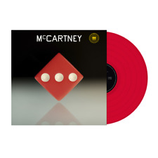 McCartney III red vinyl. Rare - 3,000 made. Paul McCartney PREORDER. World ship