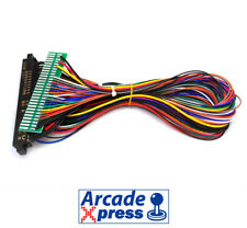 Extension Jamma Cable Arcade PCB Harness Wire 1m 12 action buttons 28 pin