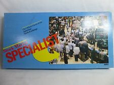 Vintage Stock Market Specialist 1982 Board Game AMEX Complete
