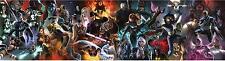 print on canvas  Comics Spiderman Superman Iron Man rassomaha X-Men Captain24X90