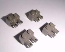 Lego (30526) 4 Basicsteine 1x2x1 mit 2 Pins, in alt dunkelgrau aus 10019 7194
