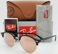 NEW Rayban Sunglasses RB4246 F 1197Z2 53 Pink Mirror ClubRound Clubmaster 4246