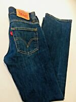 Levi Strauss 506 denim dark blue jeans men 28/32