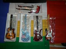 Miniature Collectible lot of 5 Guitars