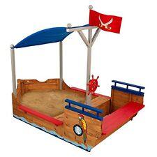 KidKraft 128 Sabbiera Galeone dei Pirati in Legno per Bambini, per (K1e)