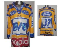 EVZ EV ZUG Walz #37 Swiss Ice Hockey Shirt Eishockey JERSEY Vintafe Signed - XL