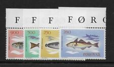 1983 Faroe Islands: Fish Sg85-88 Fine Unmounted Mint (Mnh)