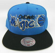 ORLANDO MAGIC NBA VINTAGE SNAPBACK MITCHELL & NESS RETRO 2-TONE CAP HAT NEW! M&N
