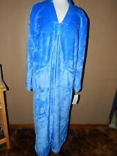 NEW Casual Moments Zip Front Robe Size XL