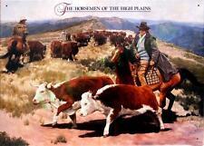 The Horsemen of the High Plains Tin Sign