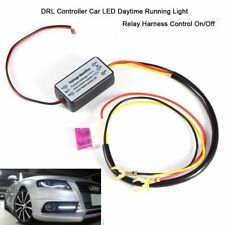 Car Led Daytime Running Light Relay Harness DRL Control ONOFF Automatic Dimmer q
