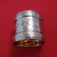 Hindostanee by Gorham Sterling Silver Napkin Ring GW BC w/Butterfly and Foliage