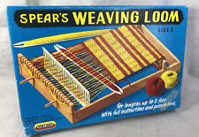Vintage Spears Weaving Loom Size 2 Made In England Open Box 100% Complete