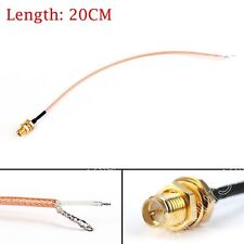 RG178 RP SMA Female To PCB Solder Pigtail Kabel Für WIFI Wireless LOW LOSS 20CM