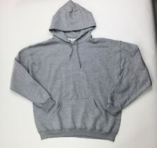 Jerzees Nublend Hooded Sweatshirt Women's XL Heather Gray 996MR