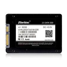 "Zheino A1 2.5""SATA3 30GB SSD For Dell HP Lenovo Acer ASUS Toshiba Sony Laptop"