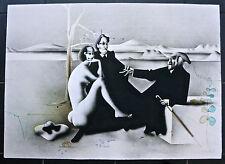 Große Original Farblithografie, Paul Wunderlich, signiert.  67x92 cm.