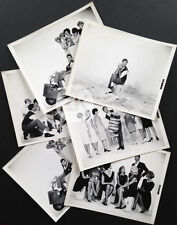 LE ZINZIN D'HOLLYWOOD Jerry LEWIS Tricycle Moteur Femmes Mode 6 Photos 1961