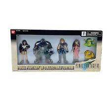 Sealed Final Fantasy VII Collectible Edition 6 figures Bandai 1997