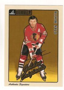 1997-98 Pinnacle Beehive STAN MIKITA Autograph #59 Blackhawks Auto Signed AU SP