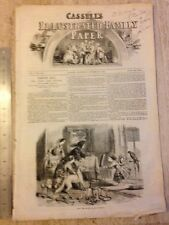 Charles Dickens - Cassell's Illustrated Family Paper. Saturday Oct 28 1854. Rare