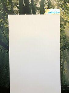 Sperrholzplatte Pappel 4 mm, 6mm, einseitig weiß, verschiedene Maße, Zuschnitt