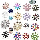 18 in 1 Snowflake Design Key Chain Hex Screwdriver Stainless Multi-Tool Portable