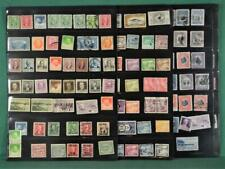 CANAL ZONE PANAMA STAMPS SELECTION ON 6 SIDES OF STOCK CARDS  (K34)