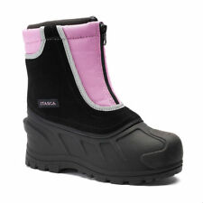 NWB Girls Itasca Pink and black Stomper Kids Winter Boots SZ 3 youth $50