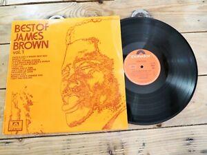 JAMES BROWN BEST OF VOL 1 LP 33T VINYLE EX COVER EX ORIGINAL