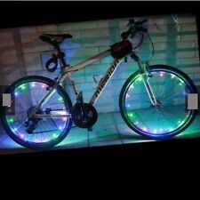 Multi-Color 18-LED Safety Wheel Spoke Light Bike Accessories
