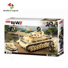 Sluban B0693 WWII Deutscher Panzer 2in1