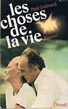 PAUL GUIMARD LES CHOSES DE LA VIE + PARIS POSTER GUIDE