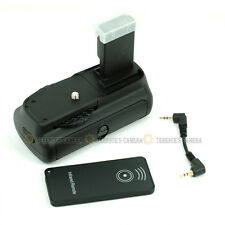 Vertical Battery Grip for Canon EOS 100D Kiss X7 Rebel SL1 +IR Remote fit LP-E12