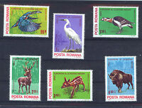 RUMANIA/ROMANIA 1980 MNH SC.2942/47 Nature Protection Year