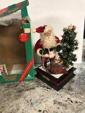 Holiday Creations Musical Lighted Santa Display Christmas Tree 12�