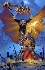 Monster era alemán #1,2,3+4 Variant-set lim.222 Darkness, Tomb Raider, Witchblade