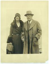 MARION DAVIES Orig 1920s 11x14 International News Press Photo with Father