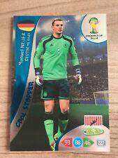 Adrenalyn XL Weltmeisterschaft 2014 Goal Stopper Karte Manuel Neuer Deutschland