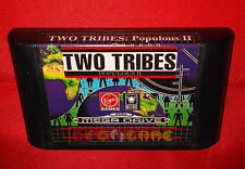 TWO TRIBES POPULOUS II 2 Sega Mega Drive Vers Europea PAL ○ SOLO CARTUCCIA DH