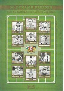 Post Modern  Dresden   SG Dynamo Dresden  Fußball   Kleinbogen  **
