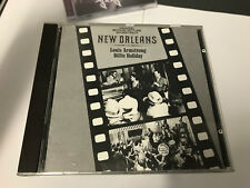 Louis Armstrong - New Orleans SOUNDTRACK W BILLIE HOLIDAY RARE CD MINT/EX [B16]