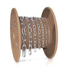 lfm 4mm Eisenkette Rundstahlkette Kette kurzgliedrig