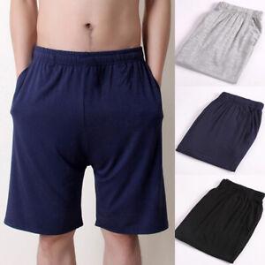 Sweatshorts Short Grande Taille Homme Été Coton Léger Pyjama