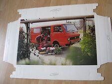 Volkswagen VW LT 28 Bild Druck historische Schauraumdeko VAG no T3 Mulivan Doka