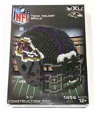 Baltimore Ravens NFL American Football Helmet 3D Logo BRXLZ Brick  Set Puzzle